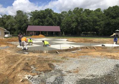 Artic Concrete - Creekwood Park Splash Pad