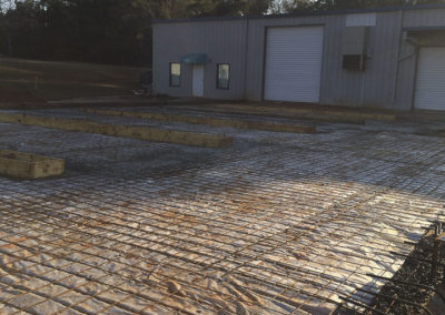 Artic Concrete - EMICC Warehouse
