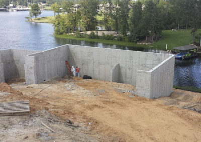 Artic Concrete - Lake Tobosofkee Basement