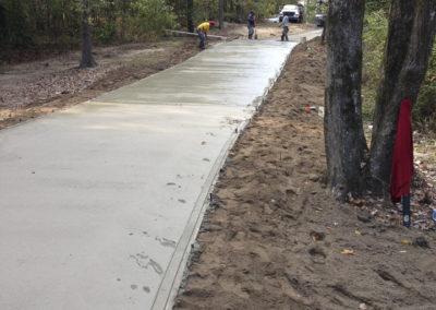 Artic Concrete - Quarter Mile Driveway